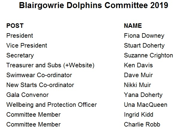 Committee 2019
