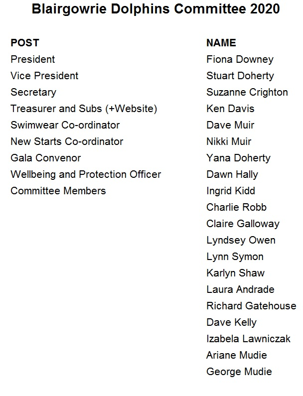 Committee 2020